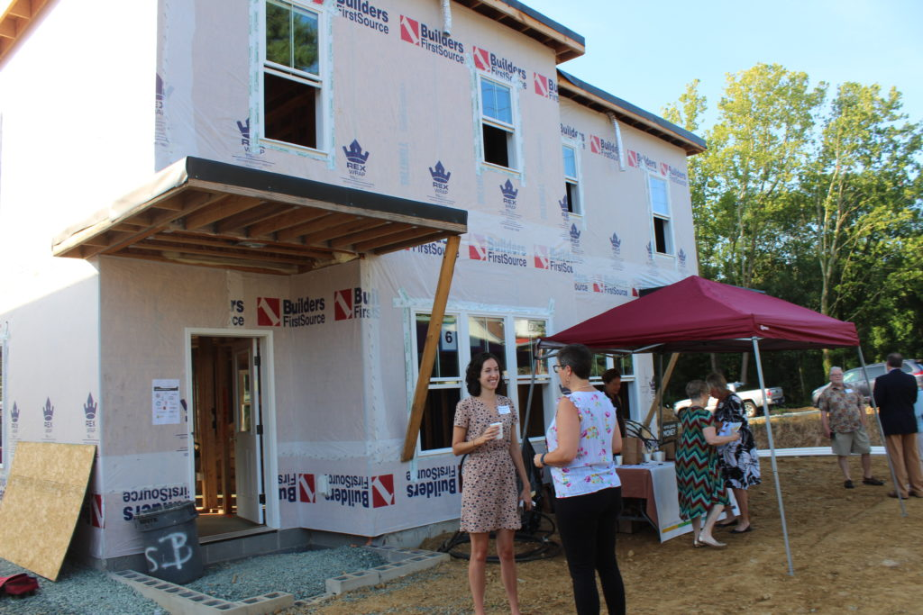 New construction on Nassau Street