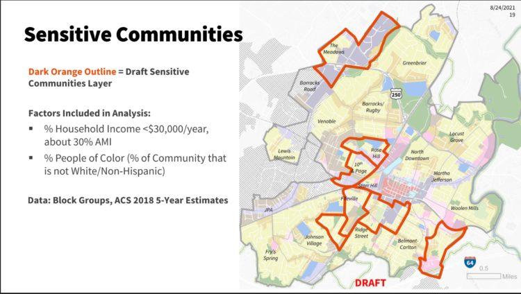 FLUM August Sensitive Communities